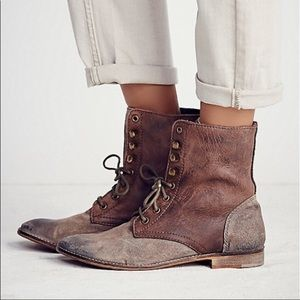 Free People Truemay Lace up Boots